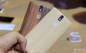Le OnePlus One arbore des coques StyleSwap en bambou et bois