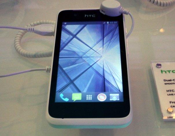 Desire 210 : HTC officialise le bas de son entrée de gamme