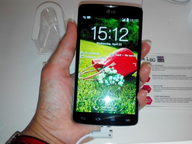 Le LG L80 officiellement pris en main en Indonésie