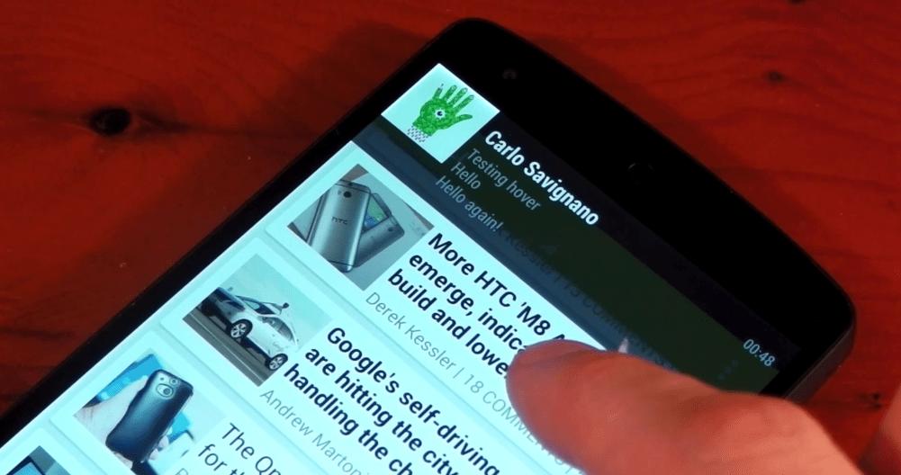 La ROM Custom Paranoid Android 4.3 Beta 1 est disponible et inclut Hover