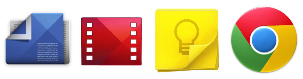 Google met à jour Play Kiosque, Play Films, Keep et Chrome sur Android