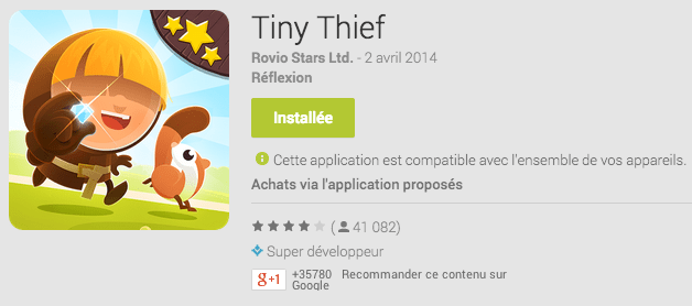 Tiny Thief : un autre bon jeu payant qui devient freemium…
