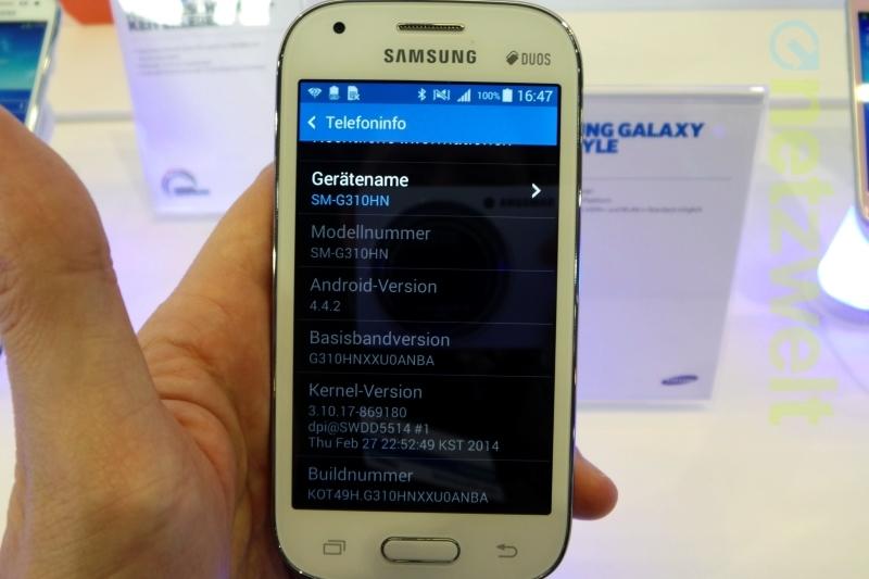 Galaxy Ace Style : l'entrée de gamme Kitkat de Samsung