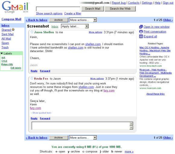 Gmail fête ses 10 ans (et un jour)