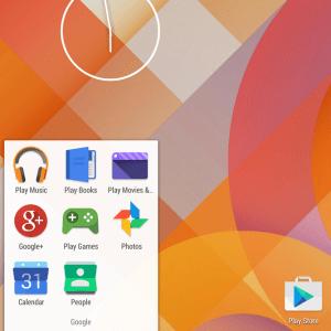 Icônes Android : vers un design harmonisé avec les services web de Google