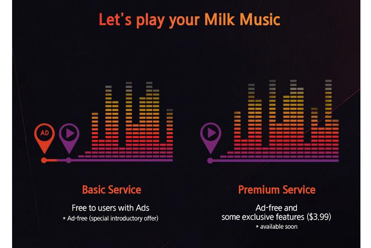 Milk par Samsung : le service va accueillir la publicité et un service premium