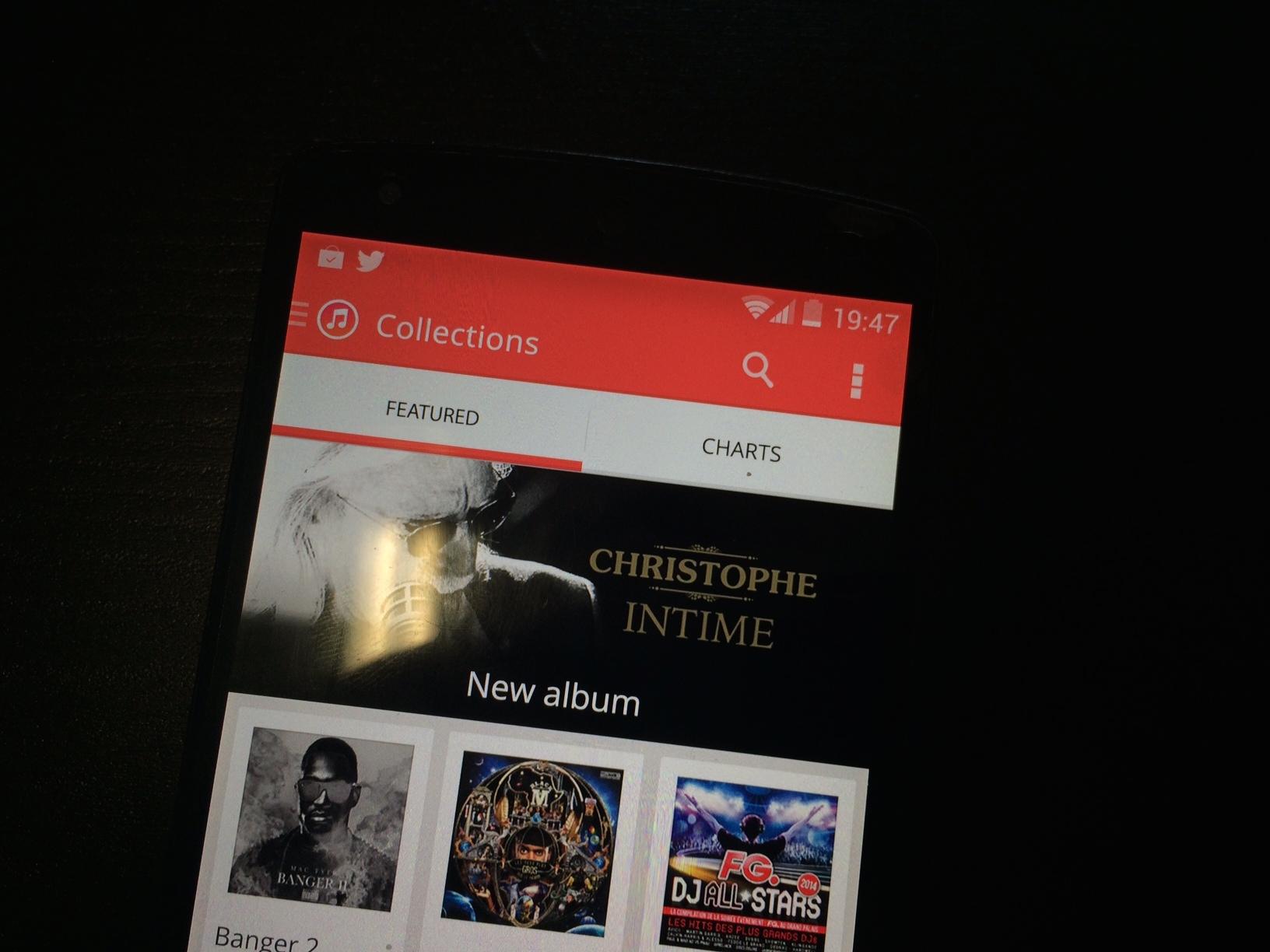 iTunes bientôt disponible sur Android