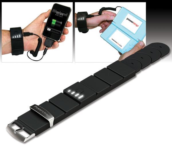 Charger son téléphone grâce à un bracelet batterie