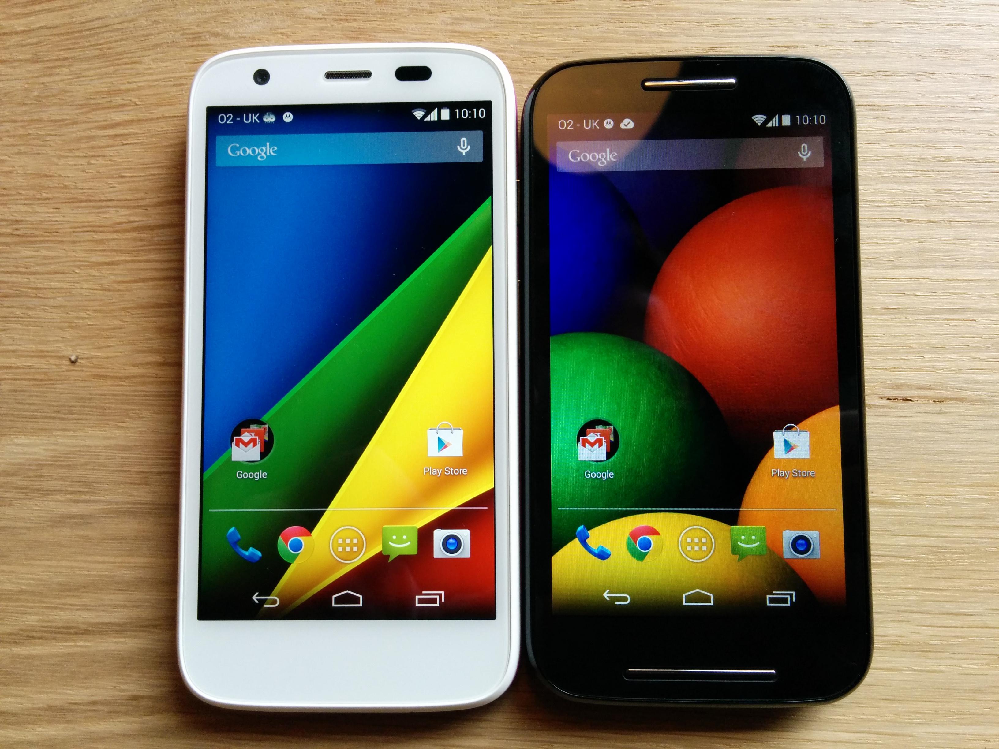Le Moto E plus rapide que le Galaxy S5 ?