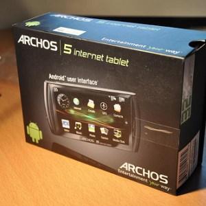 Archos 5 IT : nouveau firmware, Android 2.1 et l'Apps Lib
