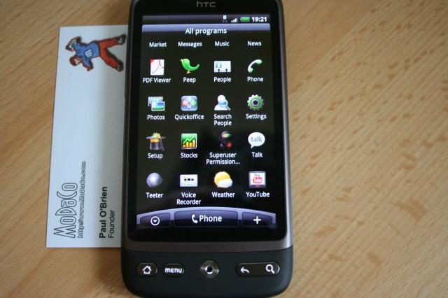 Hack day : HTC Desire et Legend rootés, Samsung Galaxy et HTC Hero overclockés