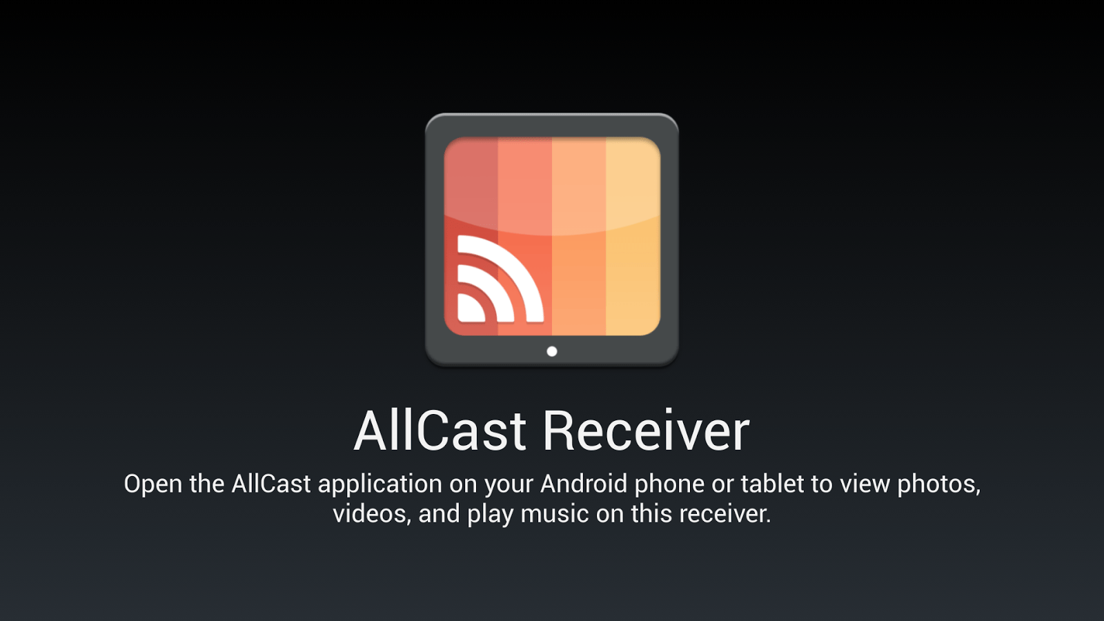 AllCast Receiver arrive sur le Play Store : transformez un appareil Android en Chromecast