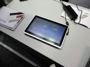 Nombreuses tablettes sous Android en vue chez FirstView