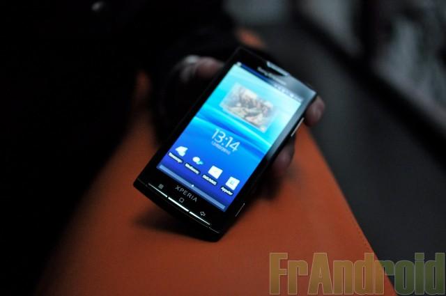 Le Sony Ericsson X10 est finalement multi-touch et sera mise à jour en Android 2.1 ou 2.2 en septembre