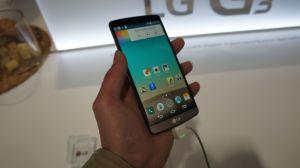 Prise en main du LG G3, nos premières impressions à chaud