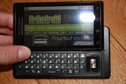 Le Motorola Milestone mis à jour vers Android 2.1 en Bulgarie
