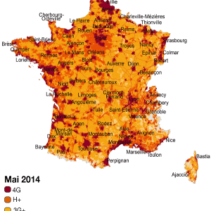 Orange couvre 60 % de la population en 4G