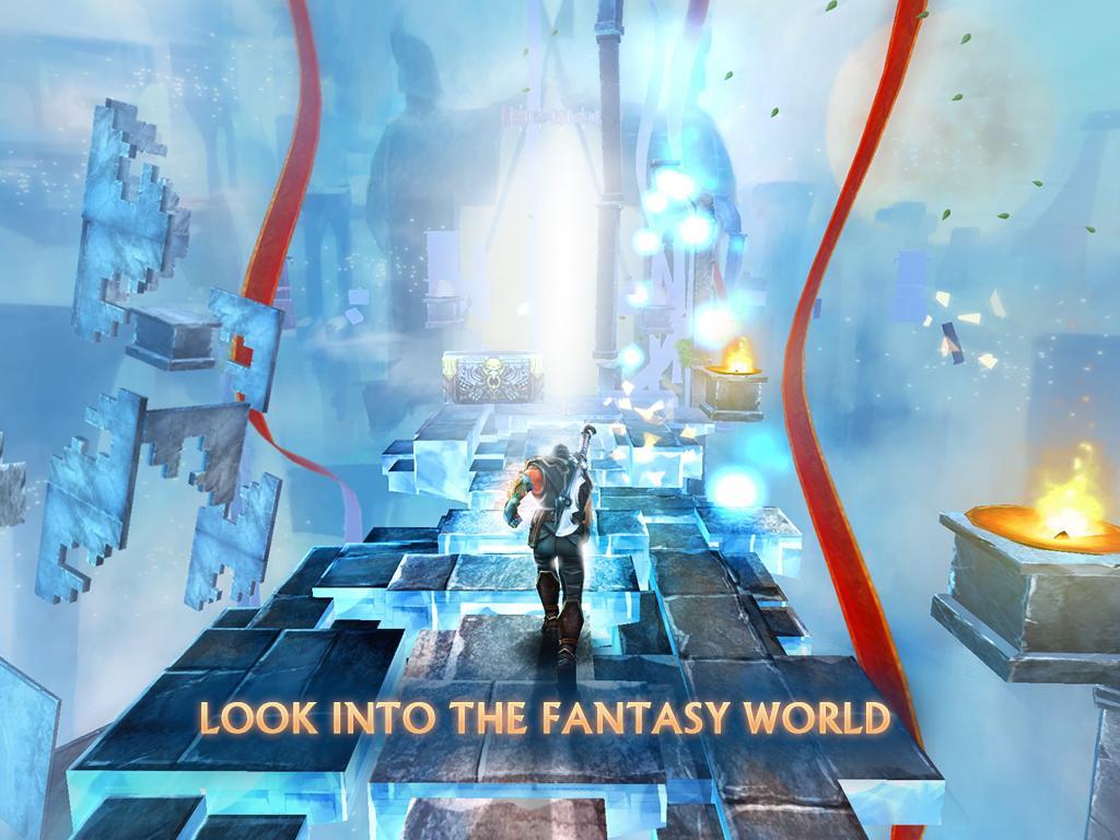 Running Shadow, le runner scindé dans un RPG sur Android