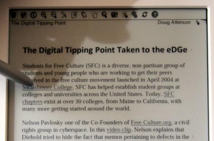 CES 2010 : Le livre numérique sous Android vient d'être présenté