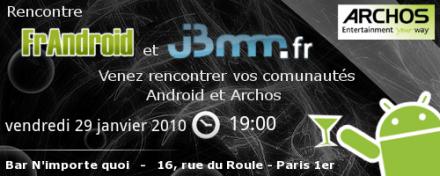 Soirée FrAndroid et JBMM : dernière ligne droite !