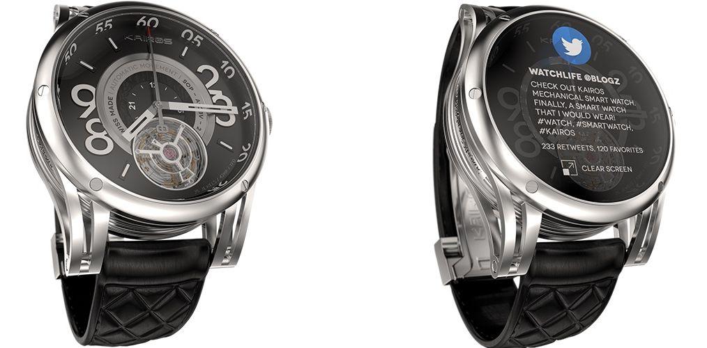 Kairos Smartwatch, une sérieuse concurrente à la Moto 360 ?