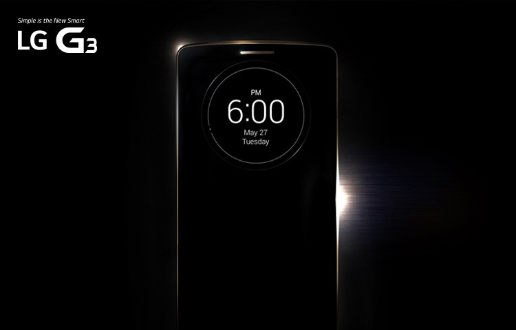 Un site officiel pour le LG G3 !