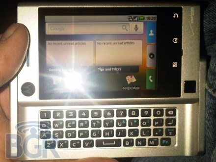 Le Motorola Calgary sous Android refait surface