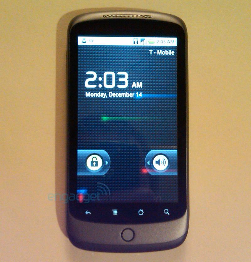 Le plein de photo du Nexus One / Google Phone