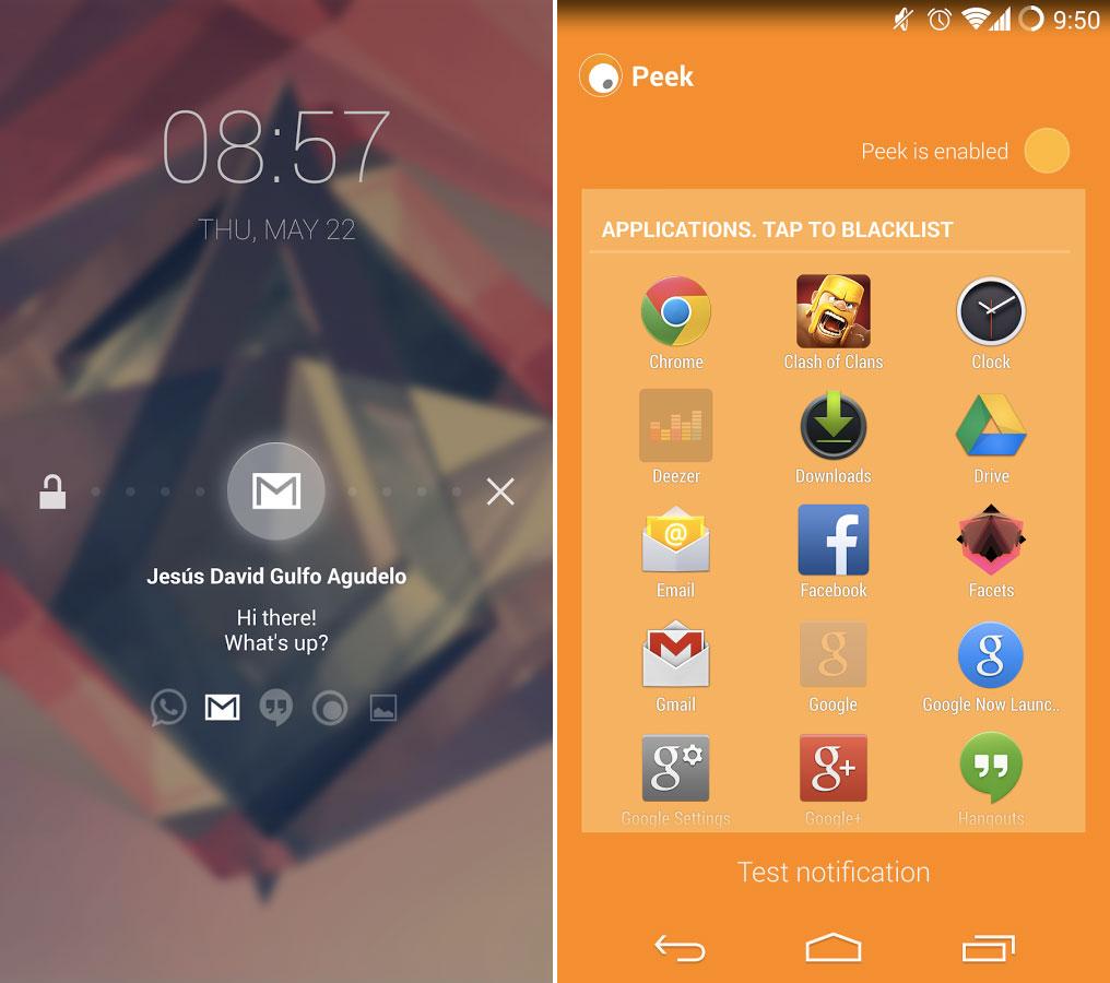Paranoid Android met son application Peek à disposition de tous