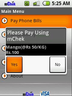 Les moyens de paiement sur Android