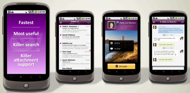 Yahoo! sur Android
