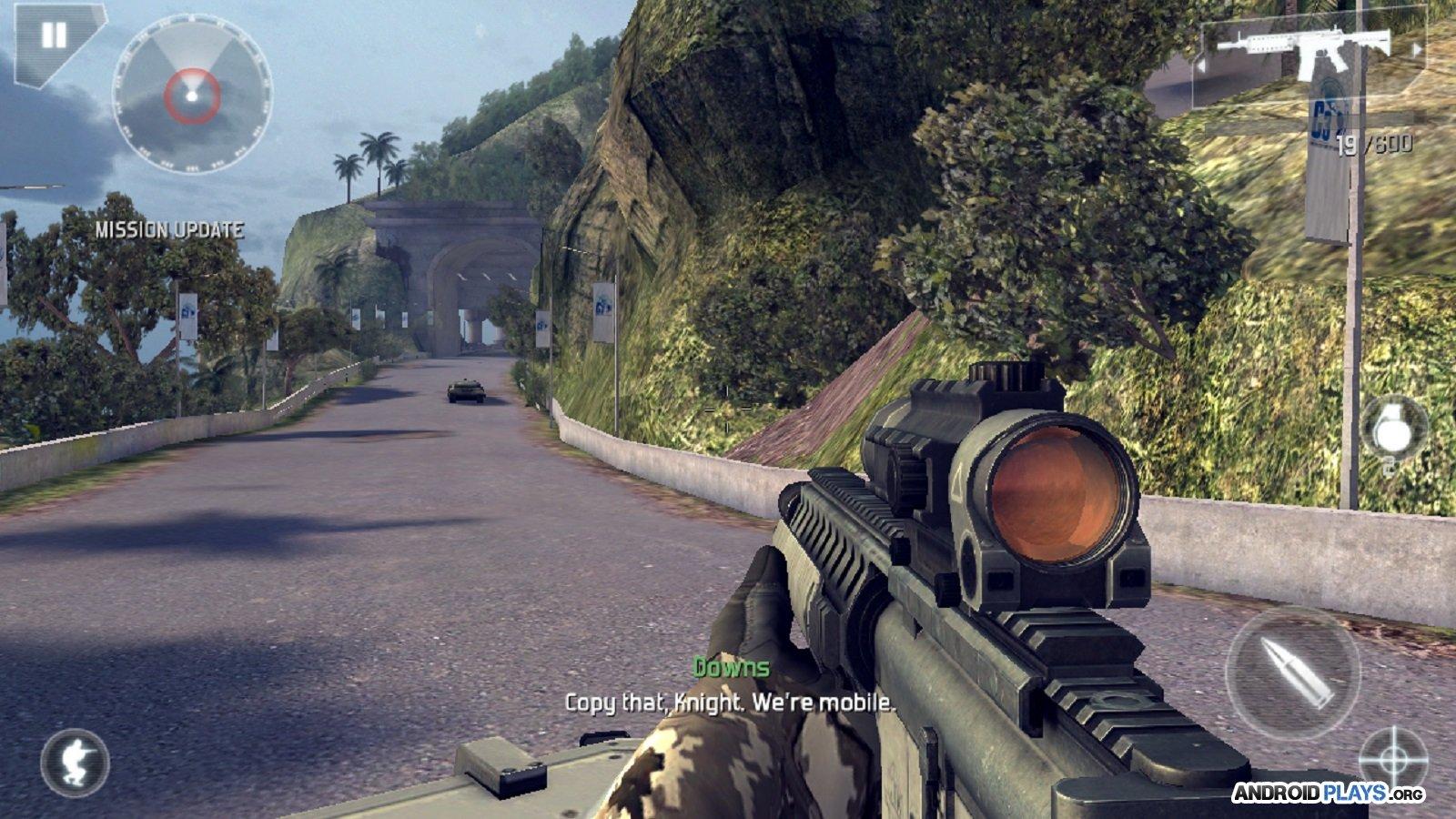 Modern Combat 5: BlackOut, plus de détails sur le prochain hit du Google Play
