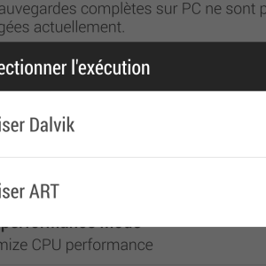 La prochaine version d'Android abandonnera la machine virtuelle Dalvik pour ART