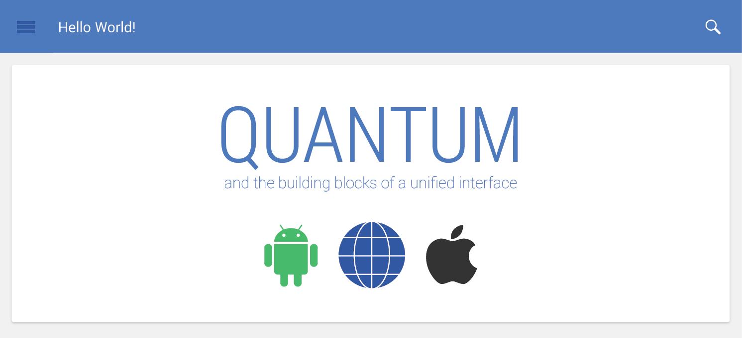 Quantum Paper : la prochaine interface de Google et d'Android livre déjà ses caractéristiques