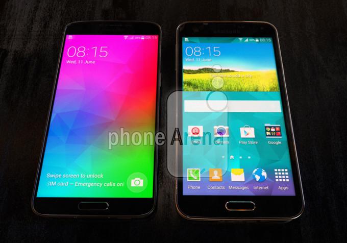 Samsung Galaxy F (S5 Prime) : un grand écran avec des bords vraiment très fins