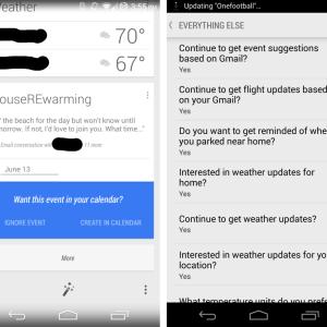 Google Now viendra détecter vos événements dans vos messages Gmail