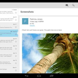 Google publie son application E-mail sur le Play Store