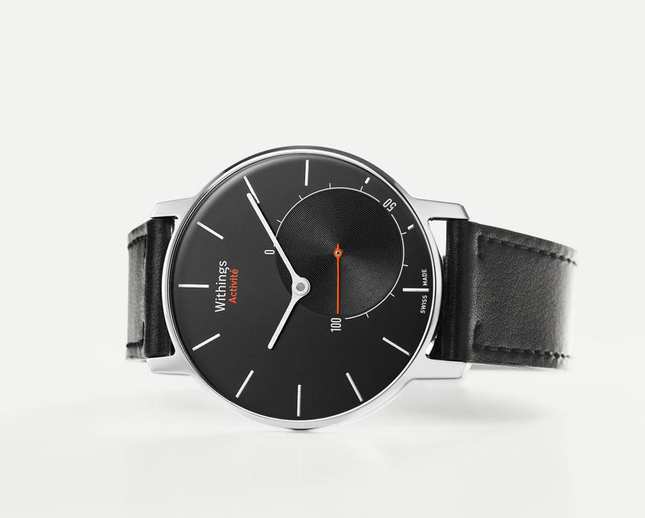 Withings Activité met des capteurs fitness dans une vraie montre !