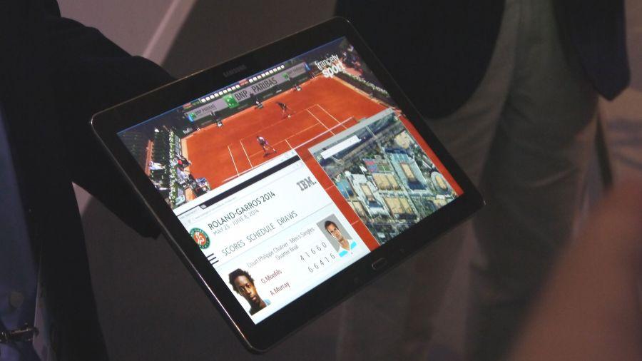 La première tablette 4K de Samsung apparaît à Paris
