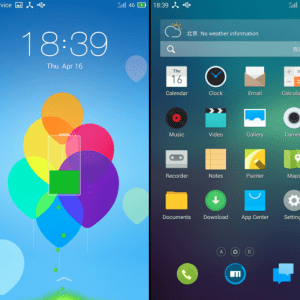 Meizu va exporter Flyme OS, qui veut de l'Android à la sauce iOS ?