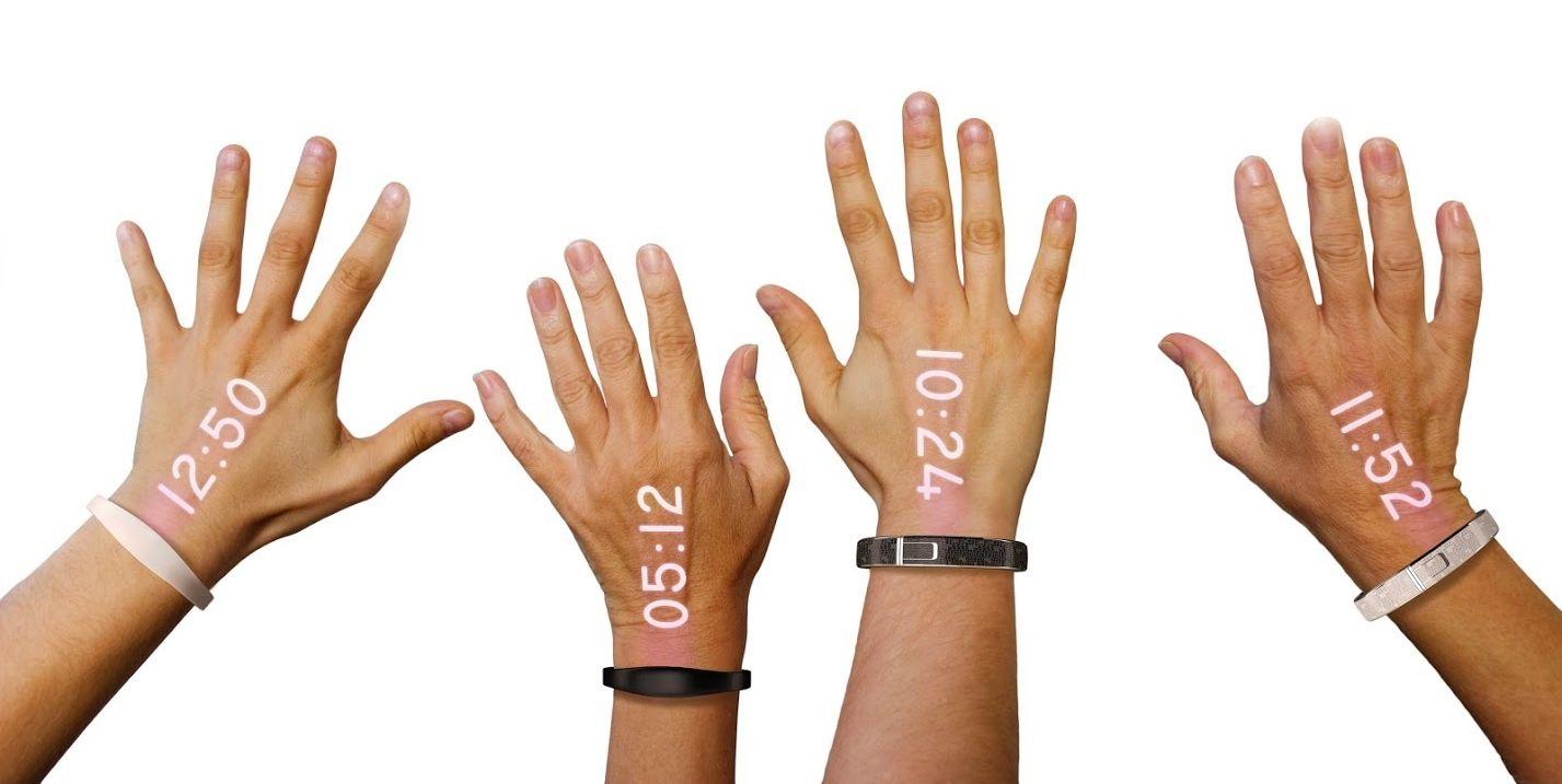 Ritot : la première montre connectée dotée d'un pico-projecteur