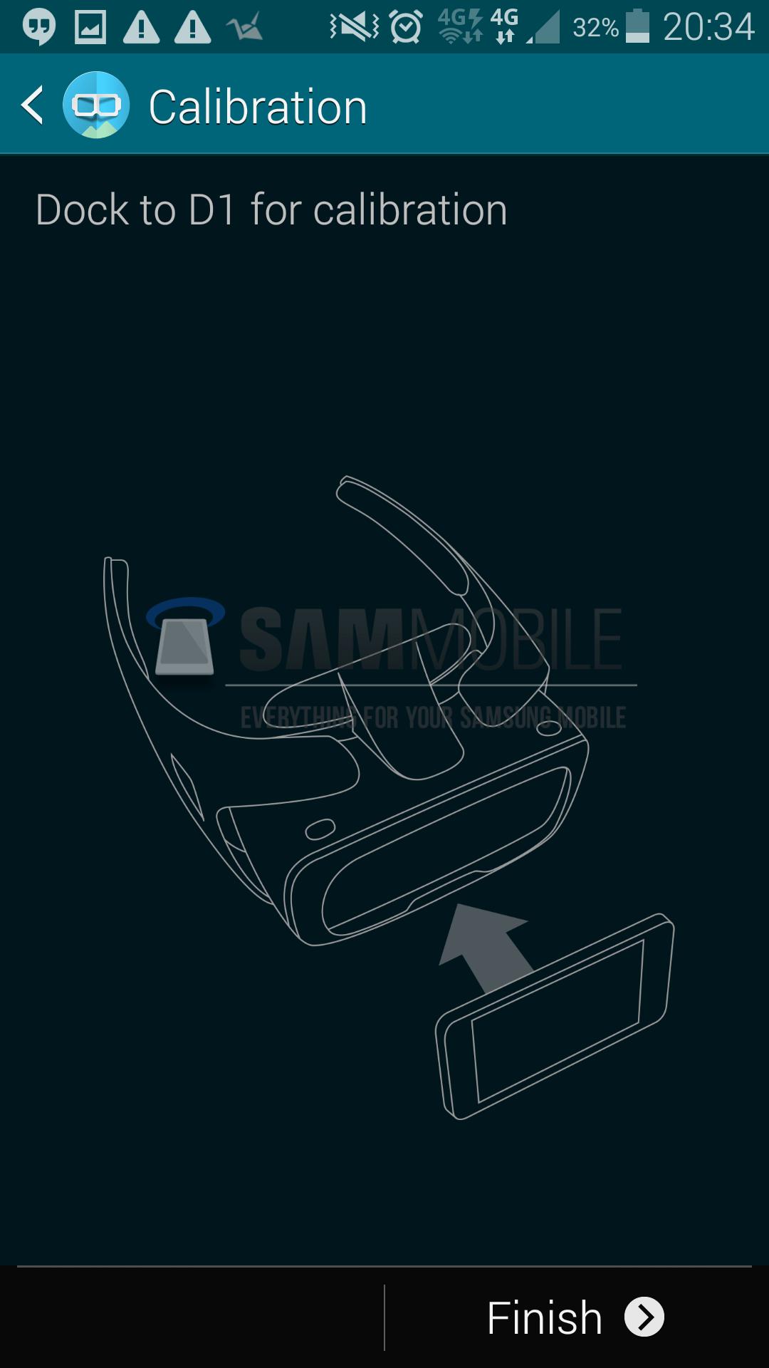 L'application Gear VR de Samsung pour le casque de réalité virtuelle déjà dévoilée