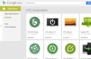 Les applis Horloge et Clavier virtuel de HTC débarquent sur le Play Store