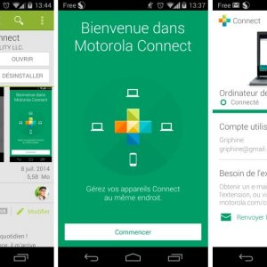 Motorola Connect 2.0 : une nouvelle interface et une fonction pour retrouver son mobile