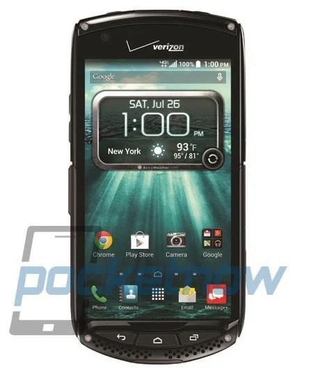 Kyocera Brigadier, l'un des premiers mobiles Android dotés d'un écran Sapphire Glass