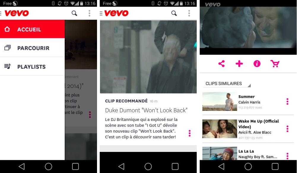 Vevo 2.0 : l'application Android se refait une beauté