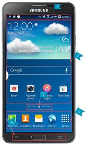 Qu'est qu'un bureau (launcher) sur Android ?