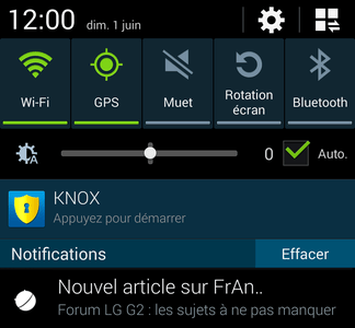Qu'est ce que la barre de notifications sur Android ?