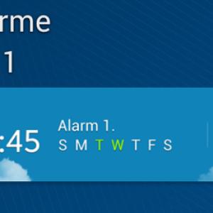 Quelques widgets incontournables sur Android