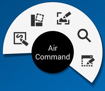 Comment utiliser les commandes aériennes avec S Pen ?